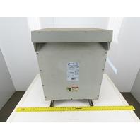 Hammond DM034JJCF 460V Hi 460Y/266V Lo 34kVa 3Ph Dry Type Transformer