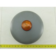 """WL Jenkins Co 4035 110V 10"""" Signaling Bell With Visible Signal Amber Strobe"""