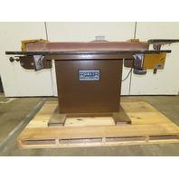 """Ritter R701 4"""" x 132"""" Woodworking Horizontal Edge Belt Sander 115/230V 1Ph 1.5Hp"""