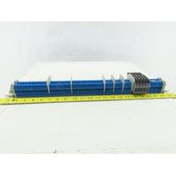 Allen Bradley 1492-W4 Terminal Block Din Rail Strip Blue  lot of 78