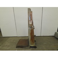 """Economy Engineering 1000# Load Tested Die Foot Lift Transport Cart 6""""-41"""""""
