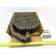 Diamond 80-3R # 80 3 Strand Riveted Roller Chain 10'