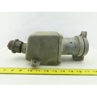 Crouse Hinds AR631S260 250VDC 600VAC 3 Pole Grounded Body Receptacle