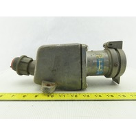 Cruse Hinds AR631 250VDC 600VAC 3 Pole Arktite Grounded Body Receptacle