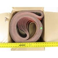 "3M 997F Part No 51111 Cubitron II Cloth Sanding Belts 4""x132"" 120 Grit Box Of 53"