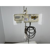 Coffing JF861-4 1/4 Ton 115V 1Ph 64FPM 18'Lift Electric Chain Hoist Single Phase