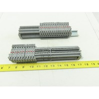 Connectwell CSFL4U Terminal Fuse Block LED Indicator 6.3A 22-10 Mixed Lot Of 71
