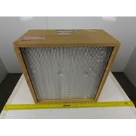 "AAF 42A74J1T2A5 HEPA Air Filter 23-3/8"" x 23-3/8"" x 11-1/2"" High Efficiency"