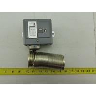 Johnson Controls A70HA-1C 15/55°F 2 Single Pole Manual Reset Temperature Control
