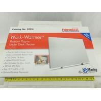 Marley 202SLB Work Warmer Under Desk Flat Panel Radiant Plug In Heater 115V 170W