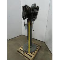 "Vintage 115V 1Ph 1/3Hp  Rivet Machine Auto Feed 9-1/2"" Throat 0.12"" Rivets"