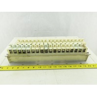 Allen 1492 CE DIN Rail Terminal Fuse Holder With Mixed Fusetron Fuse Lot Of 32