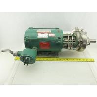 Tri-Clover C114MDG56T-S 1/2Hp 1725RPM 3Ph 208-230/460V Sanitary Centrifugal Pump