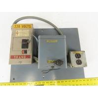 220V Single Phase Transformer 110 LV 20A Outlet W/Breaker