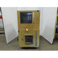 Dust Shield Computer Enclosure Cabinet W/AC Cooling Unit 115V 1Ph