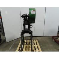 "Alva Allen BT-12 12 Ton OBI Mechanical Punch Press 10"" Open 115-208/230V 1Ph"