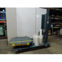 "Lantech SVS-80-LG 48"" x 48"" Pallet Turntable Film Stretch Wrap Machine 110V 1Ph"