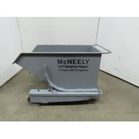 McNeely 1/4 Yard Self Dumping Chip Hopper Low Profile 90° Dump 2500LB Cap