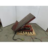 Presto TT45-20 Hydraulic 0-45° Lift Tilt Table Upender 115/120V 1Ph Single Phase
