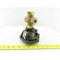 "Powers 658-0040 1/2"" NPT Body 3 Way Mixing Valve 10-14 PSI Actuator"
