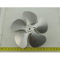 "Air Driven Inc. 5140C 12"" Evaporator Fan Blade Aluminum 5 Blade 8mm Bore"