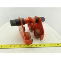 "CM Series 633 1/2 Ton Manual Push Hoist Trolley 2-1/2""-5-5/8"" Wide Beam Range"