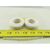"Tri-Clover SP216-80-11CER Ceramic Seat Seal 27mm 1-1/4"" OD Lot Of 2"