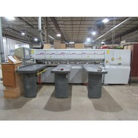"Homag CHF-320/32/32 Optimat 230/460V CNC Horizontal Panel Saw 126""x126"""