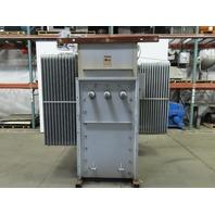 Square D 12470 Delta HV 480Y/277 LV 1500/1932 Cont kVA Substation Transformer