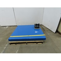 "Avery ZM303 Weigh-Tronix 5000 Lbs. Capacity 48"" x 48"" Pallet Floor Scale"