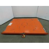 "Knight 4000 LB 74""x54"" Pallet/Box /Basket Material Handling 360° Turn table"