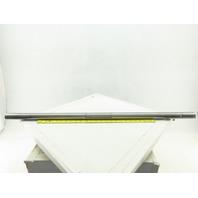 """1-7/16"""" OD x 39-1/2"""" OAL Keyed Fan Blade Turbine Shaft 3/8"""" Keys"""
