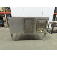 "Steam Coil Forced Air Downdraft Thermal Process Dryer SS 76"" x 43"" See Info"