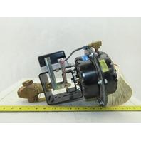JOHNSON CONTROLS MP821D Pneumatic Valve Actuator,4 to 8 Spring 1/2 NPT Bronze
