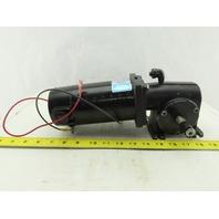 Leeson CM34D25NZ63B 24VDC 1/3Hp 62RPM Right Hand Output Gear Motor