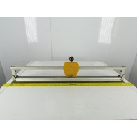 """Calstone 29-1/2"""" Material Width 35"""" Straight Cut Rotary Material Cutter Bar"""