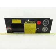 Hyster Hand Accelerator Control Instrument Panel From R30CH Rackloader 36V