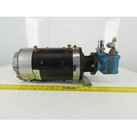 Hyster 313299 36/48V DC Forklift Motor Vickers V10 1P25 Hydraulic Pump