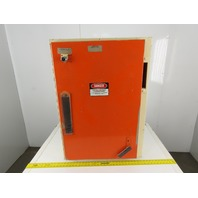 """Square D Hinged Door Electrical Enclosure 36x25-1/2""""x10"""" W/Back Plate"""