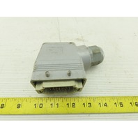 ILME CDDF42 42 Pin Male Insert Receptacle Plug Housing 23-14AWG 250V 10A