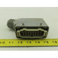 ILME 16A 500V 6kV 16 Male Pin Plug Housing
