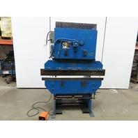 """Chicago Dreis & Krump Model 131 48"""" Bed 18GA Mechanical Brake Press 11 Ton 460V"""