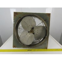 "Dayton 5K574BA 24"" x 24"" Exhaust Fan 2 Speed 1/4-1/8Hp 1725/1140RPM 1Ph"