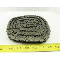 "Link-Belt 50-1 Single Strand Riveted Roller Chain 5/8"" Pitch 10'"