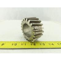 "G&S 53870 Helical Gear 20 Teeth 1-3/8"" Wide 1-5/8"" Keyed Bore 2-3/4"" OD"
