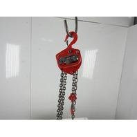 Coffing UA0137 Model LHH 1/2 Ton Chain Fall Hoist Hand Manual 20' Lift