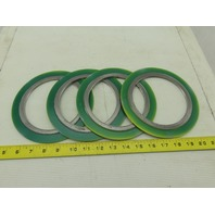 "Klinger 304/FG 4"" Class 300 Spiral Wound Gasket ASME B16-20 Lot Of 4"