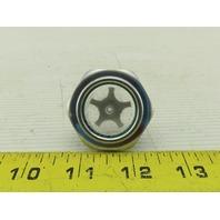 G 1-1/4 Thread Aluminum Oil Level Sight Glass 40mm Across Flats
