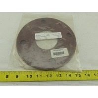 "3"" #150 4 Bolt Flange Phenolic Type E Insulate Gaskets Lot Of 2"