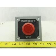 Allen Bradley 800T-FX6A5 30mm Push Button Switch Red Non Illuminated Mushroom